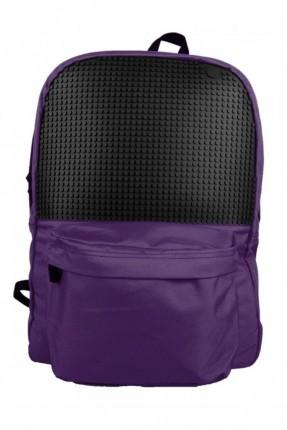 حقيبة ظهر مدرسية - بنفسجي