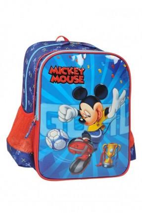 حقيبة مدرسية / ازرق - احمر /