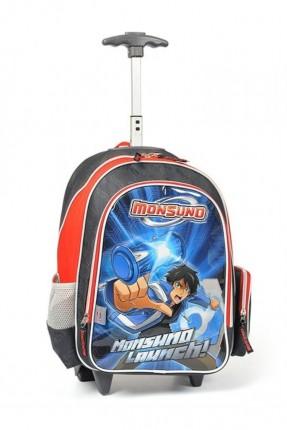 حقيبة مدرسية مع عجلات