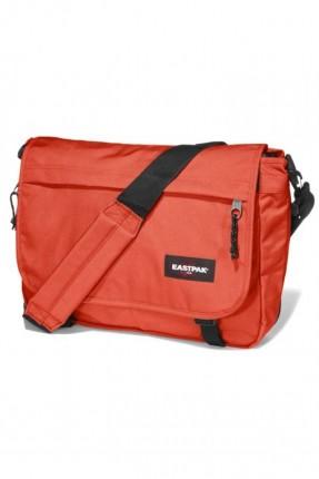 حقيبة كتف مدرسية - برتقالي