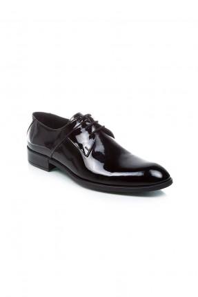 حذاء رجالي لميع - اسود