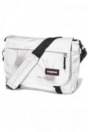 حقيبة كتف مدرسية - ابيض