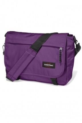 حقيبة كتف مدرسية - بنفسجي