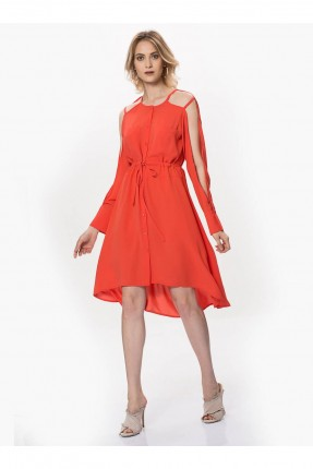 فستان سبور - اجمر