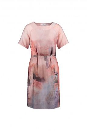 فستان مع نقشة - زهر