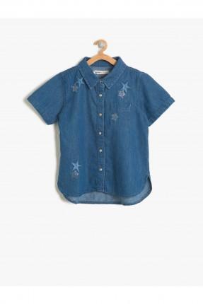 قميص اطفال بناتي منقوش نجم
