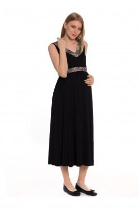 فستان حامل - اسود