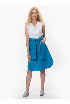 تنورة قصيرة موديل قميص