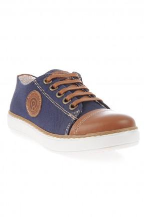 حذاء اطفال ولادي - نيلي
