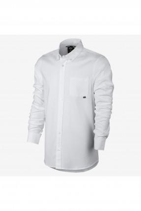 قميص رجالي رياضي Nike - ابيض