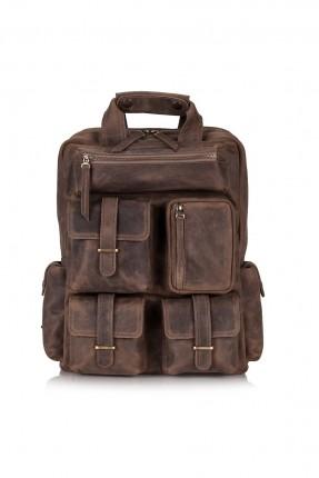 حقيبة ظهر رجالية مع جيوب