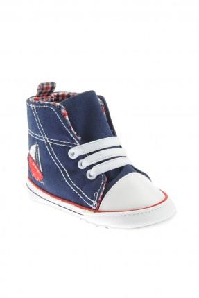 حذاء بيبي ولادي - نيلي