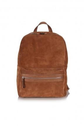 حقيبة ظهر رجالية - بني