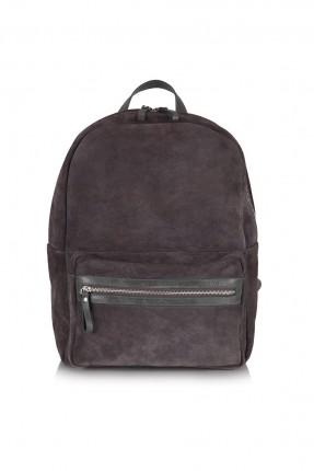 حقيبة ظهر رجالية - رمادي داكن