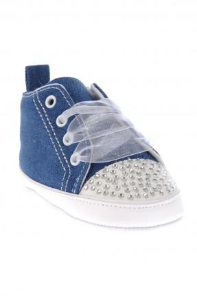 حذاء بيبي بناتي - نيلي