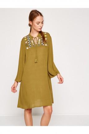فستان نسائي سبور - زيتي