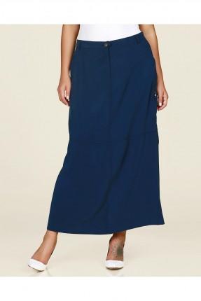 تنورة طويلة - ازرق داكن