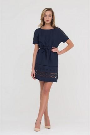 فستان سبور مفرغ مع ربطة خصر