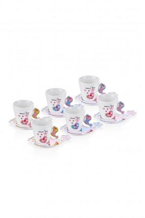 طقم فنجان شاي / 6 اشخاص /