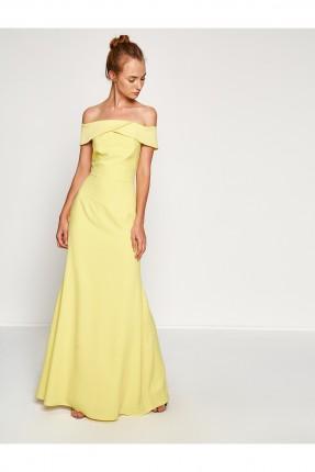 فستان كت - اصفر