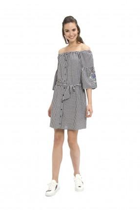 فستان قصير - اسود