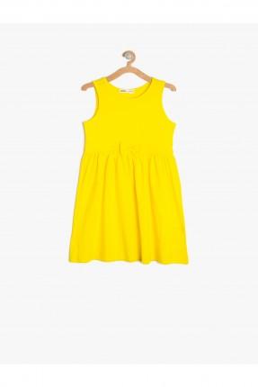 فستان اطفال - اصفر