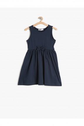 فستان اطفال - ازرق داكن