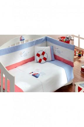 طقم سرير بيبي - ازرق