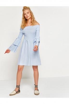 فستان سبور كت - ازرق