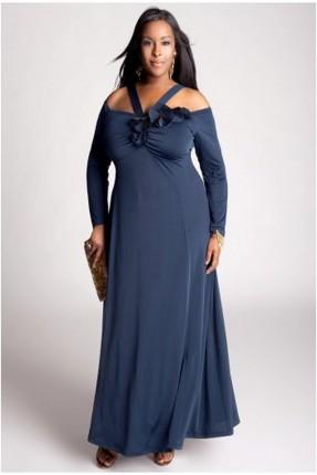 فستان رسمي دانتيل _ ازرق داكن