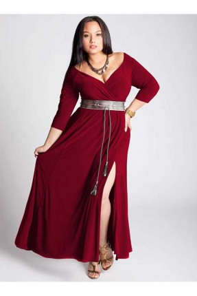 فستان رسمي _ خمري