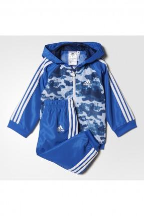 بيجاما اطفال بناتي adidas - ازرق داكن