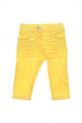 بنطال بيبي بناتي - اصفر