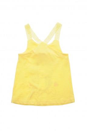 بلوز اطفال بناتي - اصفر