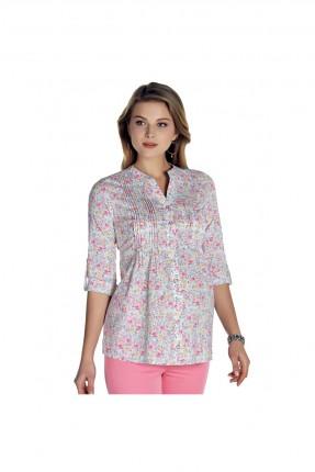 قميص نسائي للحمل مزهر