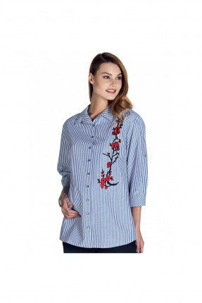 قميص نسائي للحمل مطرز