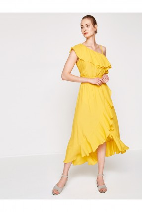 فستان سبور - اصفر