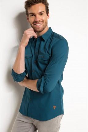 قميص رجالي _ اخضر
