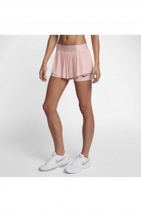 تنورة رياضية قصيرة - وردي