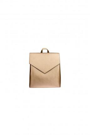 حقيبة ظهر نسائية _ ذهبي