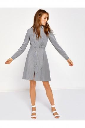 فستان نسائي سبور - رمادي