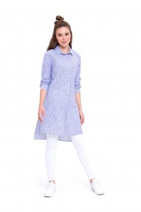 قميص نسائي _ ازرق