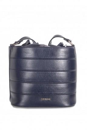 حقيبة يد نسائية جلد _ ازرق داكن