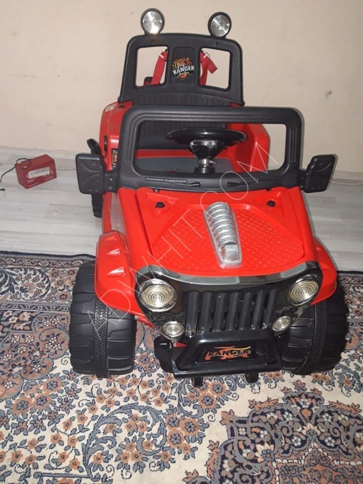 سيارة اطفال كهربائية مستعملة للبيع السعر 550 ليرة تركية تركيا ادويت