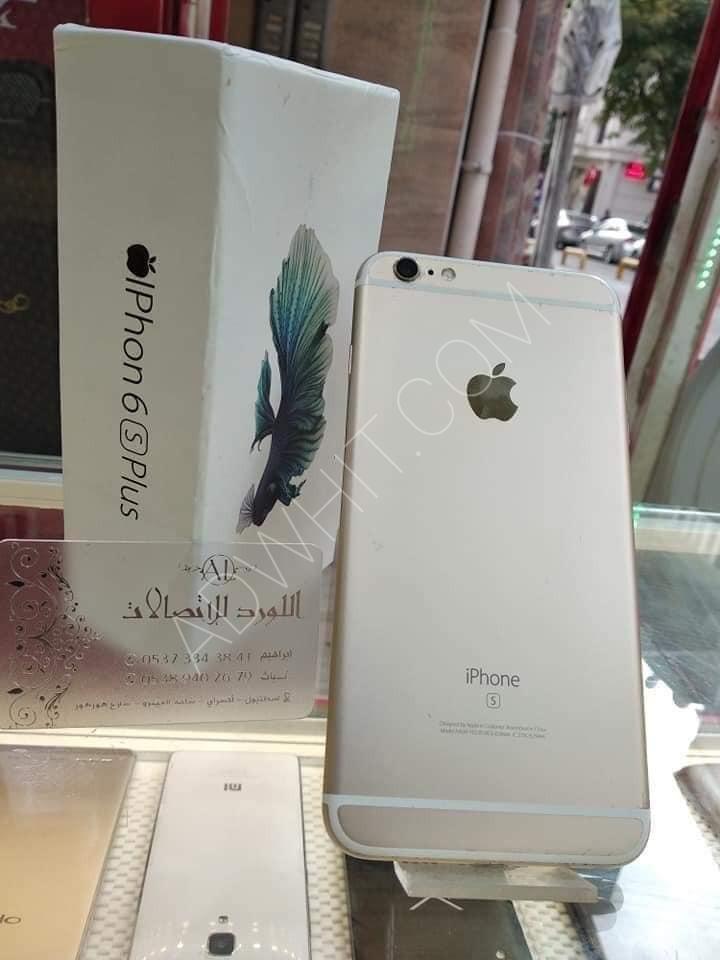 موبايل ايفون S6 بلس مستعمل للبيع   السعر : 2,000 ليرة ...